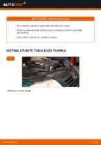 Pakeisti Spyruoklės VW PASSAT: instrukcija