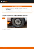 Hvordan skifter man og justere Bærearm VW POLO: pdf manual