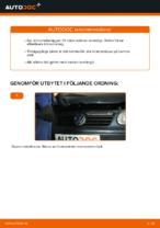 Laga Bromsbelägg VW POLO: verkstadshandbok