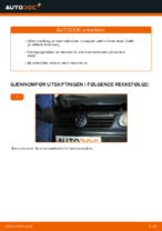 Skifte Bremsekloss VW POLO: gratis pdf