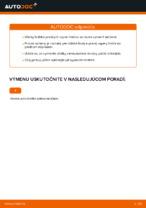 Ako vymeniť uloženie prednej vzpery zavesenia kolies na Volkswagen Polo IV