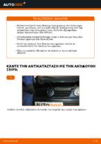 Πώς αντικαθιστούμε οπίσθιους δίσκους φρένων σε Volkswagen Polo IV
