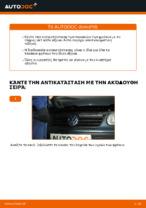 Αντικατάσταση Τακάκια Φρένων πίσω και εμπρος VW μόνοι σας - online εγχειρίδια pdf