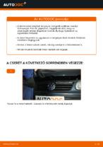 Volkswagen Polo IV hátsó féktárcsa csere