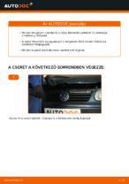 Volkswagen Polo IV tárcsafék hátsó fékbetét csere