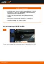 Kā nomainīt Volkswagen Polo IV aizmugurējos bremžu diskus