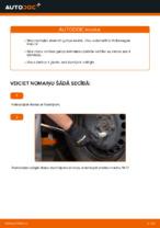 Kā nomainīt aizmugurējā riteņa rumbas gultni automašīnai Volkswagen Polo IV
