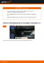 Hoe de achterste remblokken van schijfremmen vervangen op Volkswagen Polo IV