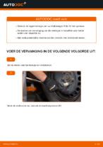 Hoe de achterste naaflager van een Volkswagen Polo IV vervangen