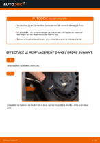 Remplacement Jeu de roulements de roue VW POLO : pdf gratuit