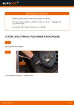 Hvordan man udskifter hjulleje i bag på Volkswagen Polo IV