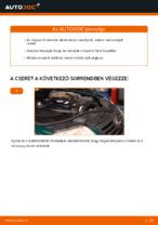 VW PASSAT Variant (3B6) Olajszűrő beszerelése - lépésről-lépésre útmutató
