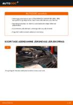 Kuidas asendada VOLKSWAGEN PASSAT B5 (3BG, 3B6) esimesi pidurikettaid