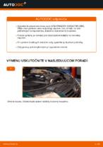 Ako vymeniť predné brzdové kotúče na VOLKSWAGEN PASSAT B5 (3BG, 3B6)