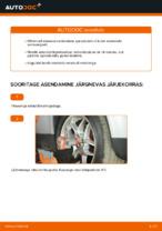 Kuidas vahetada esimesi suspensiooni vedrusid autol VOLKSWAGEN PASSAT B5 3B6