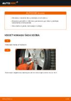 Automehāniķu ieteikumi MERCEDES-BENZ W168 Mercedes A 170 CDI 1.7 (168.009, 168.109) Bremžu šļūtene nomaiņai