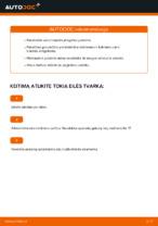 automobilių dalys MERCEDES-BENZ M Klasė (W163) | PDF Instrukcija remonto