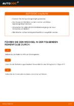 Montage Bremsbackensatz für Trommelbremse MERCEDES-BENZ M-CLASS (W163) - Schritt für Schritt Anleitung