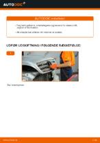Skifte Luftfilter MERCEDES-BENZ M-CLASS: guider online
