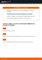 Instalación Rótula barra de dirección MERCEDES-BENZ M-CLASS (W163) - tutorial paso a paso