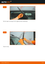How to replace and adjust Windscreen wipers MERCEDES-BENZ M-CLASS: pdf tutorial