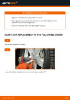 How to replace and adjust Shock Absorber MERCEDES-BENZ M-CLASS: pdf tutorial