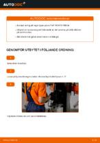 Onlineguide för att själv byta Flerspårsrem i OPEL CORSA C (F08, F68)