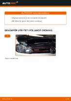 VW GOLF reparera bruksanvisning