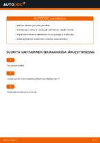 Raidetangon Pää vaihto: MERCEDES-BENZ M-CLASS pdf oppaat