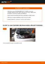 Kuinka vaihdat etujarrulevyt VOLKSWAGEN GOLF VI (5K1) -autoon