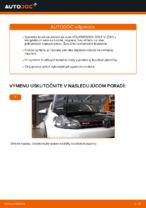 Ako vymeniť predné brzdové kotúče na VOLKSWAGEN GOLF VI (5K1)