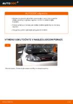 Ako vymeniť predné brzdové platničky kotúčovej brzdy na VOLKSWAGEN GOLF VI (5K1)