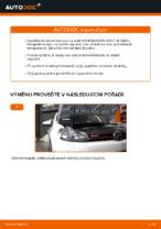 Jak vyměnit přední brzdové kotouče na VOLKSWAGEN GOLF VI (5K1)