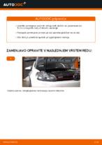 Menjava zadaj in spredaj Zavorne Ploščice VW GOLF: spletni vodič