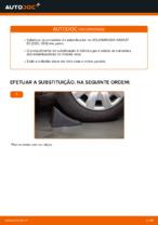 Como mudar e ajustar Pendural da barra estabilizadora VW PASSAT: tutorial pdf