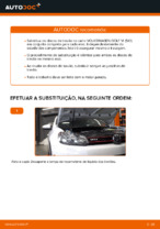 Instalação Discos de travagem VW GOLF VI (5K1) - tutorial passo-a-passo