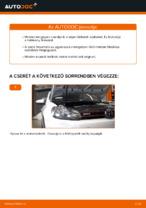 Fékbetét készlet cseréje: pdf útmutatók VW GOLF