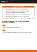OPEL CORSA C (F08, F68) Koppelstange wechseln vorne links: Anleitung pdf