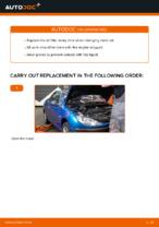 Replacing Oil Filter: pdf instruction for PEUGEOT 206