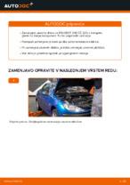 Avtomehanična priporočil za zamenjavo PEUGEOT Peugeot 206 cc 2d 2.0 S16 Koncnik