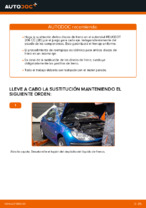 Cuándo cambiar Kit de frenos de disco PEUGEOT 206 CC (2D): manual pdf