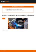 PEUGEOT 206 Tulpat vaihto : käsikirja verkossa