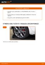 Kedy meniť Vzpera stabilizátora VW GOLF VI (5K1): pdf príručka
