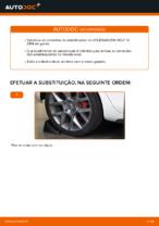 Mudar Tirante da Barra Estabilizadora VW GOLF: manual técnico