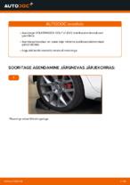 Asendamine Stabilisaatori otsavarras VW GOLF: käsiraamatute