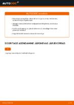 MERCEDES-BENZ - remondi käsiraamatud koos illustratsioonidega