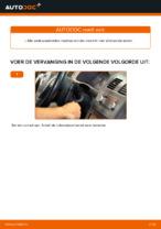 Zelf Wisserbladen achter en vóór vervangen VW - online handleidingen pdf