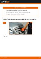 Automehaaniku soovitused, selleks et vahetada välja MERCEDES-BENZ ML W163 ML 320 3.2 (163.154) Õõtshoob