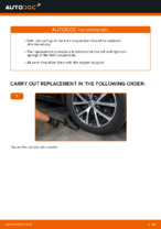 Step-by-step repair guide for VW TOURAN