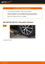 Laga Stötdämpare VW TOURAN: verkstadshandbok